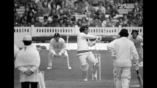 Sunil Gavaskar in 1974. Until the '60s, the India team would be plagued by a lack of leadership. Then came men like Mansur Ali Khan Pataudi and Gavaskar. The latter would be a standout captain as well as the first in India's still-ongoing string of world-dominant batsmen. (Getty Images)