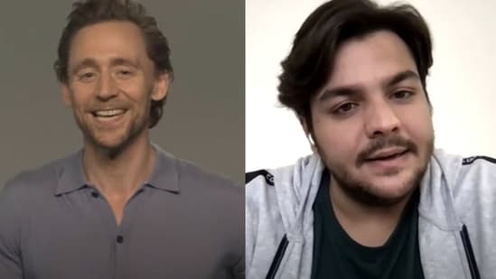 Tom Hiddleston in a conversation with YouTuber Ashish Chanchlani