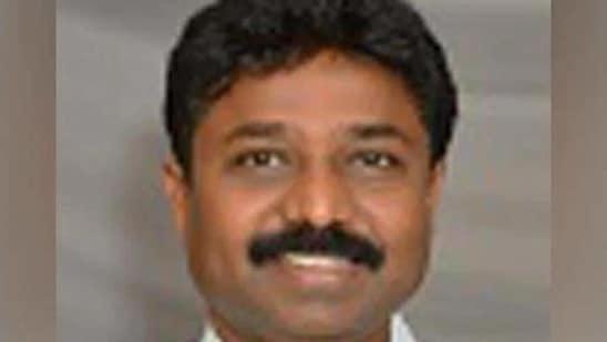 Andhra Pradesh Education Minister Adimulapu Suresh.(ANI )