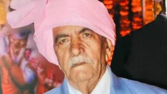 File Photo of Surat Singh Mathur(Twitter)