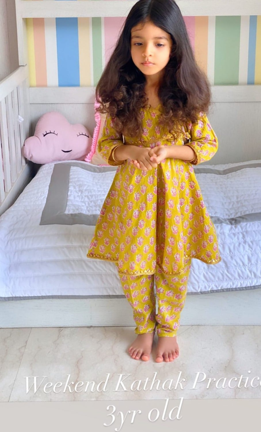 Asin shares a pic of her daughter Arin.