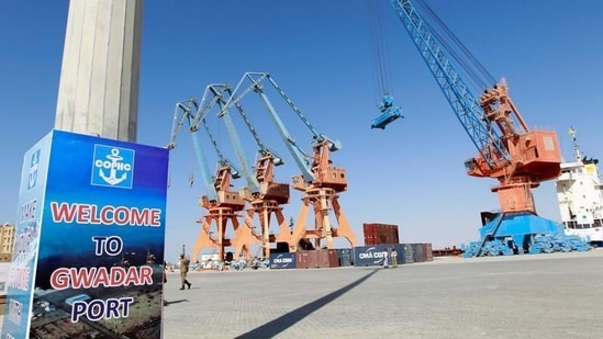 India has raised voiced against China-Pakistan Economic Corridor (CPEC), a part of BRI, which connects China's Xinjiang province with Gwadar port in Pakistan's Balochistan province.(Reuters File Photo)