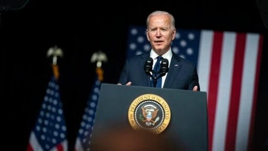 President Joe Biden.(AP)