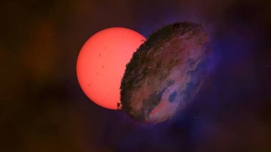 Since the star is located in a dense region of the Milky Way, the researchers considered whether some unknown dark object could have simply drifted in front of the giant star by chance.