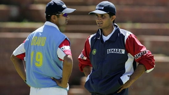 After his ouster from the team in 2005, Sourav Ganguly was replaced by Rahul Dravid as India captain. (Getty Images)