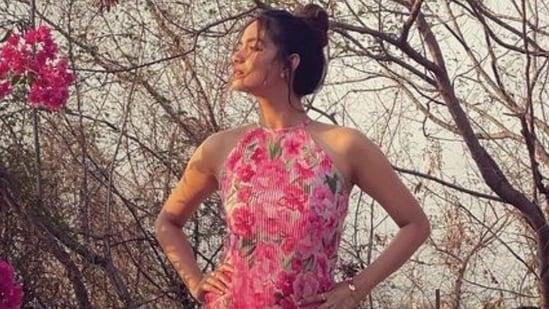 Keerthy Suresh in sleeveless floral dress looks magical, see new pic(Instagram/@keerthysureshofficial)