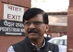 Raut said that there is no use of having faith if the money taken for building the temple has been misused and demanded that it should be investigated if the allegations are right or wrong.(Sonu Mehta / Hindustan Times)
