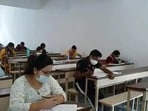 CLAT 2021: The exam will be a pen and paper exam conducted at Centres with all COVID-19 safety protocols being observed.(ANI file)