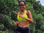 Ankita Konwar misses going on long runs, asks fans to keep moving and stretching(Instagram/@ankita_earthy)