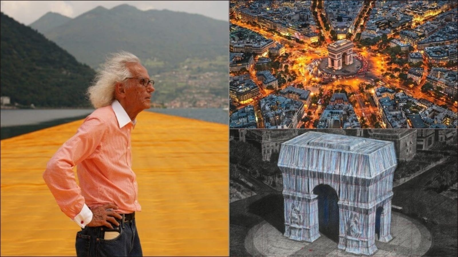 Christo's temporary artwork, L'Arc de Triomphe, due for wrap in September 2021 - Hindustan Times
