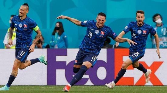 UEFA Euro 2020 Poland vs Slovakia Live Score(Pool via REUTERS)