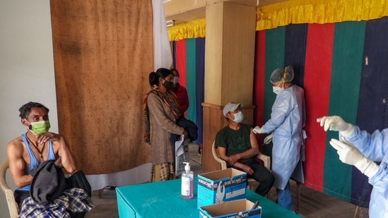 A total of 253,195,048 beneficiaries have been vaccinated against the Covid-19 disease in India till now.