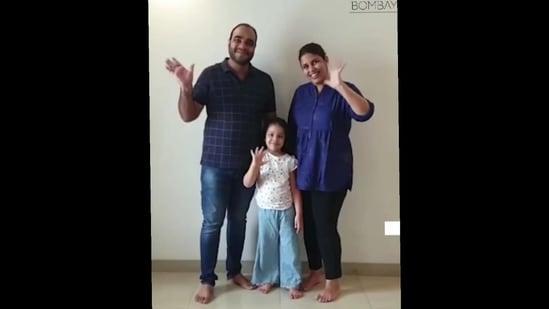 Members of the Dewda family(Instagram/@officialhumansofbombay)