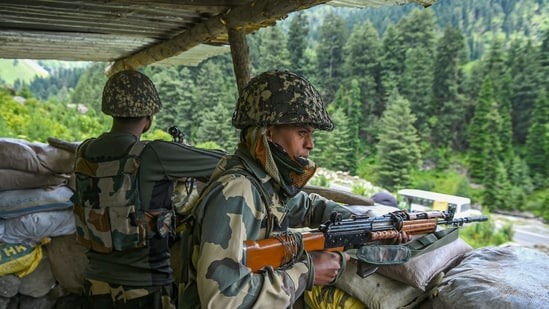 The Indian Army has also strengthened its deployments in Ladakh as well as the entire Line of Actual Control (LAC) as it has now deployed an additional strike corps to tackle the China border.(ANI)