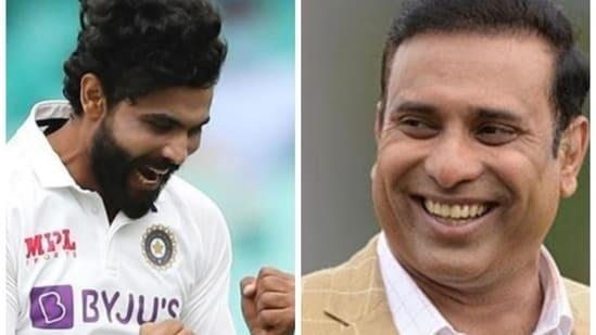 Ravindra Jadeja (left) and VVS Laxman(HT Collage)
