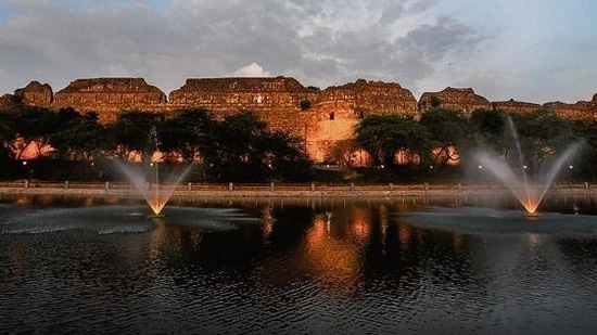 File photo of Old Fort or Purana Quila in Delhi .