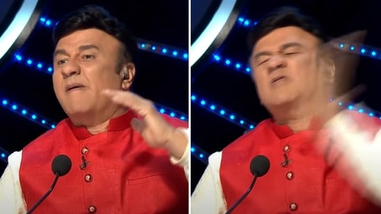 Anu Malik slapped himself more than once during an Indian Idol 11 audition.