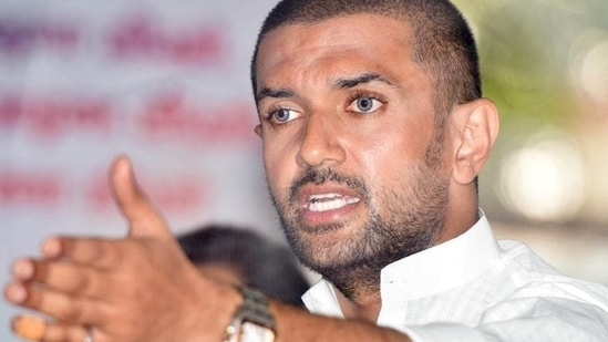 LJP's Chirag Paswan has not commented on the development so far.(HT file photo)