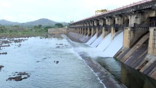 Comparatively, the Tunga dam is a small one, constructed to provide drinking water to Shivamogga and for canal irrigation of paddy and areca nuts in the region.(ANI file photo)