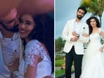 Charu Asopa shared pictures from her engagement with Rajeev Sen.