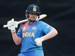 FILE PHOTO: Indian batswoman Shafali Verma during the group stage ICC Women's T20 World Cup 2020.(PTI)