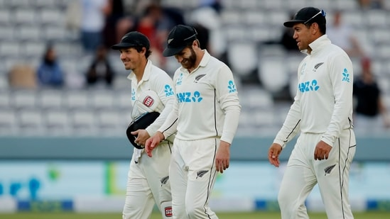 New Zealand's BJ Watling and captain Kane Williamson were declared fit for the WTC final against India(Action Images via Reuters)