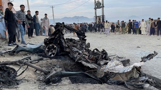 The vehicle-borne IED killed 80 people, mostly schoolgirls, in Hazara area of Kabul on May 8. The Taliban have been opposed to Hazara people and mounted atrocities on them when in power between 1996-2001.(Reuters File Photo)