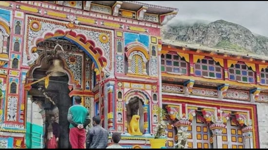 Char Dham Devasthanam Board needs more time to complete the preparations for the yatra, minister Subodh Uniyal said (HT Photo)