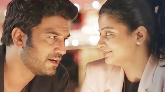 The Family Man 2: Priyamani and Sharad Kelkar in a still from the show.