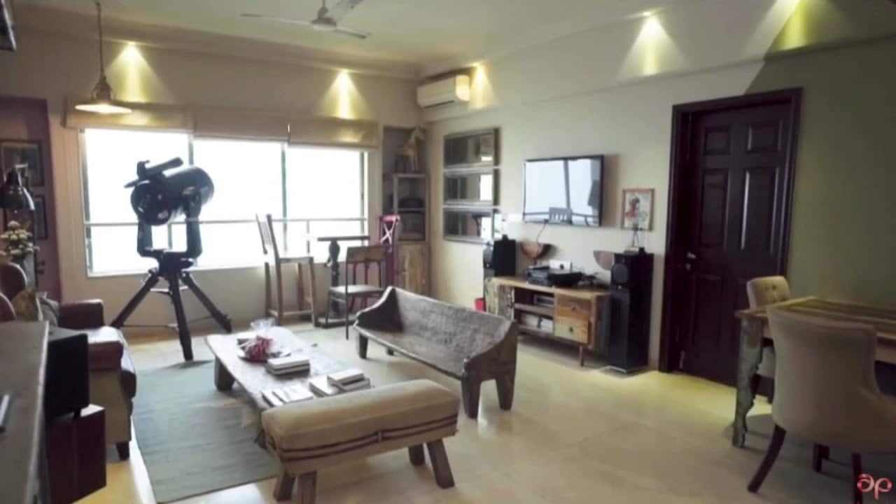 A view inside Sushant Singh Rajput's home