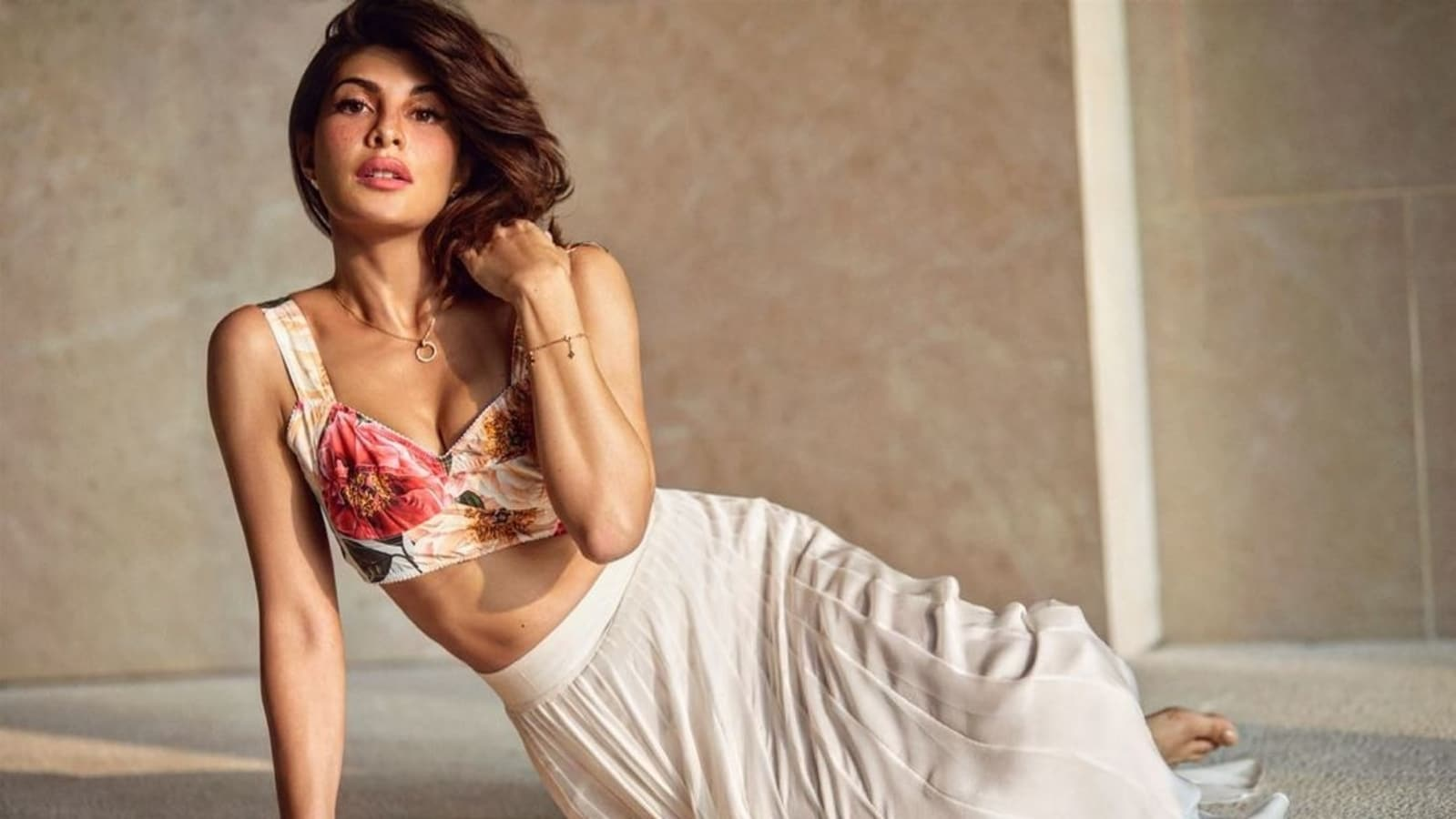 Beloved Jacqueline Fernandez's floral bustier in new video? Here is what it prices