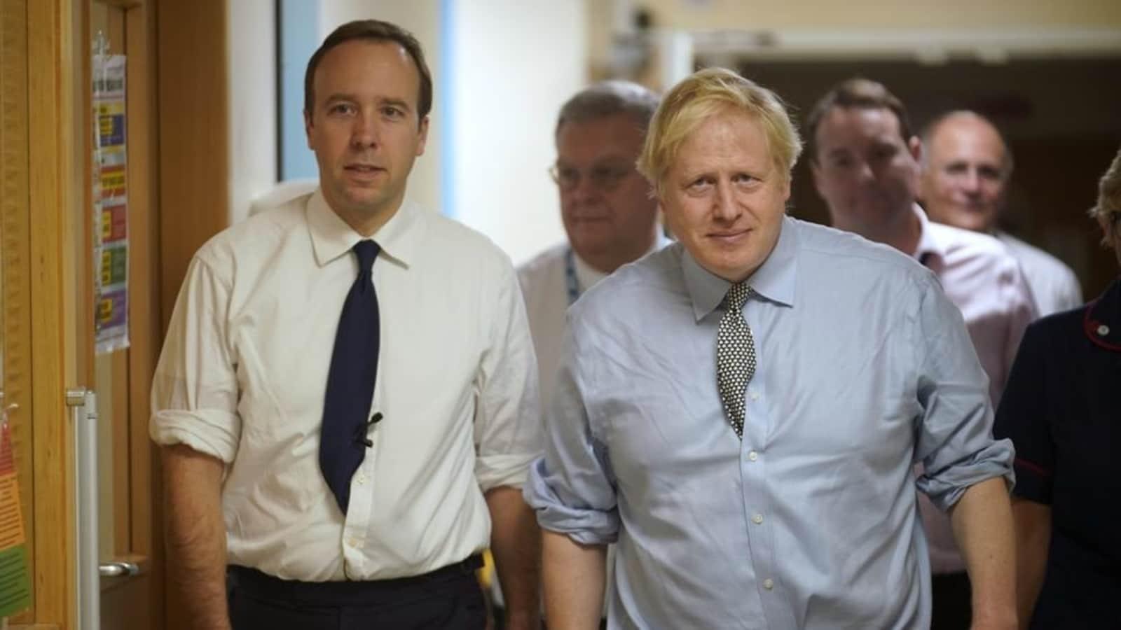 Totally hopeless': Boris Johnson lambasted his health minister, ex-adviser says | World News - Hindustan Times