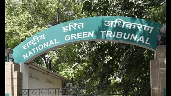 The NGT was hearing a plea filed against unscientific disposal of bio-medical waste in Faridabad, in violation of the Bio-Medical Waste Management Rules, 2016. (HT File)