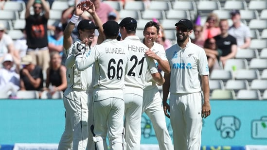 New Zealand players celebrate(Action Images via Reuters)