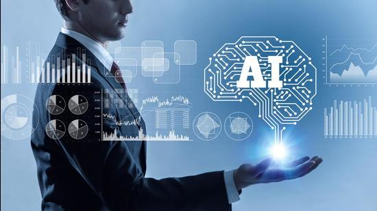 AI (Artificial Intelligence) concept. (Getty Images/iStockphoto)