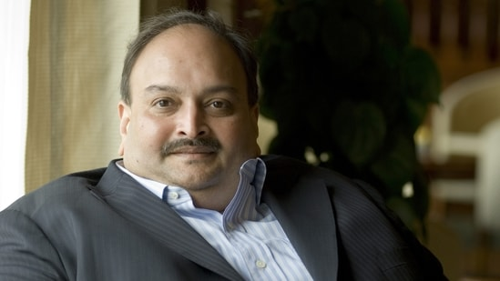 Mehul Choksi, 62, faces charges of getting 165 Letters of Undertaking (LOUs) and 58 FLCs (Foreign Letters of Credit) fraudulently issued in 2017 in connivance with officials of the state-run bank.( Priyanka Parashar/Mint)