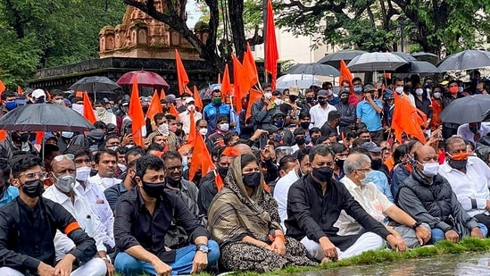 The organisers requested the participating politicians to put forth their individual stand and not the agenda of their parties. (PTI Photo)(PTI)