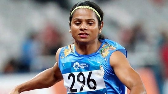 File image of Dutee Chand.(File)