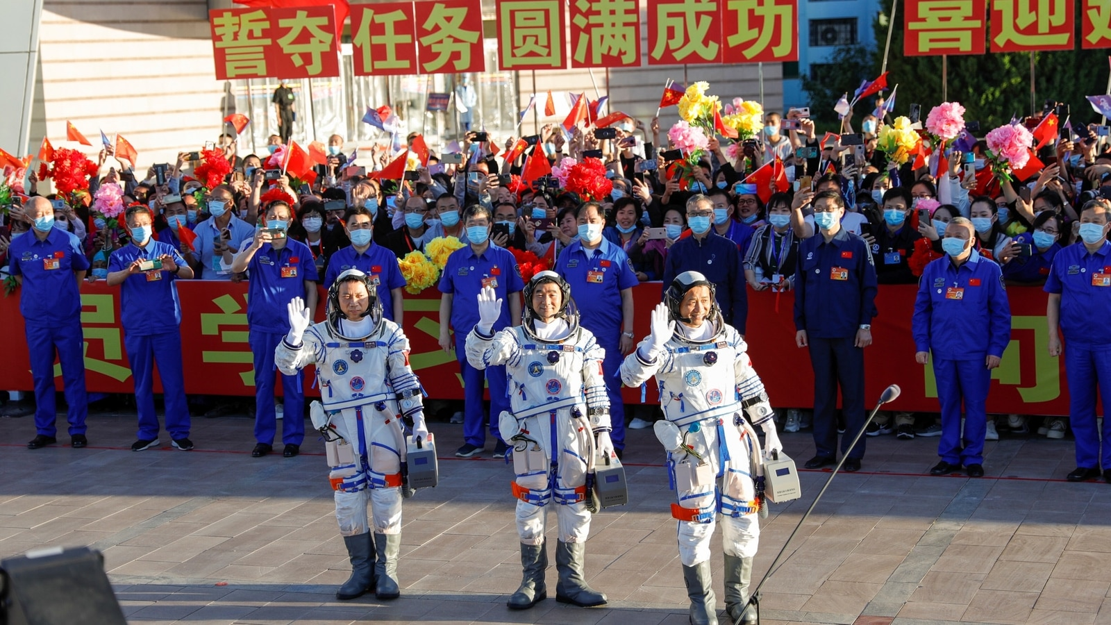 China launches manned space mission: Veteran astronaut, treadmills and more