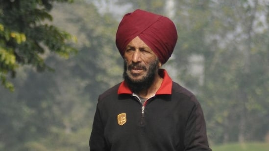 Milkha Singh has been moved to a non-Covid ICU in PGIMER's Advanced Cardiac Centre. ((HT Photo))