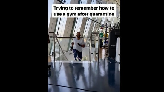 Will Smith took to Instagram to share the video.(Instagram/@willsmith)