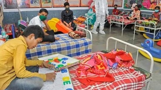 In Delhi, which was one of the five sites for the study, the researchers found that 74.7% of the population – both children and adults – had been exposed to the infection.