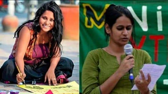 Student activists Natasha Narwal and Devangana Kalita (File Photo)