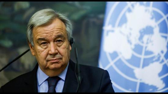 UN Secretary General Antonio Guterres. (REUTERS)