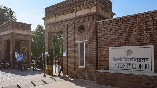 Delhi University's law faculty repeats questions(Amal KS/HT Photo)