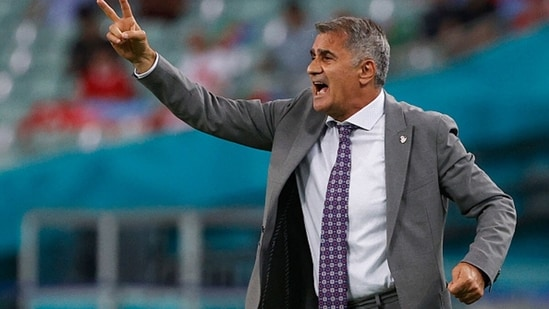 Turkey coach Senol Gunes. (Getty Images)