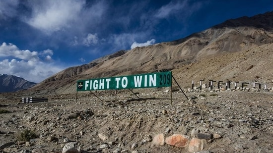 The conference is taking place at a time when India and China have only had limited success in hammering out an agreement for disengagement of their soldiers deployed at friction points on the LAC.(Getty Images)