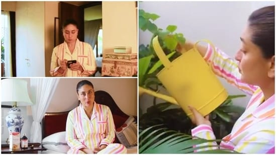 Kareena Kapoor gave fans a look inside her home in a new video.