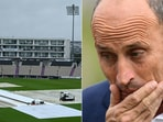 Nasser Hussain rained the fickle nature of English rain. (Getty Images)