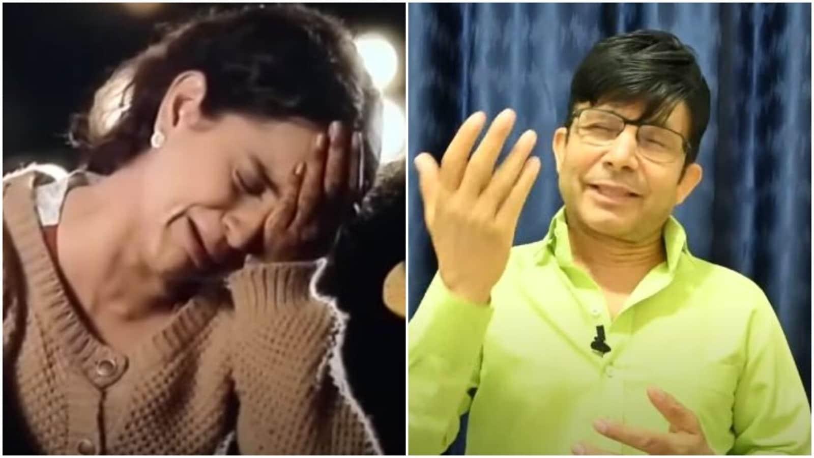 KRK targets 'barwi fail' Kangana Ranaut, pretends to weep as he mocks her  in new video | Bollywood - Hindustan Times
